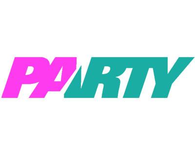 pink colors party logo design shitech best web design agency
