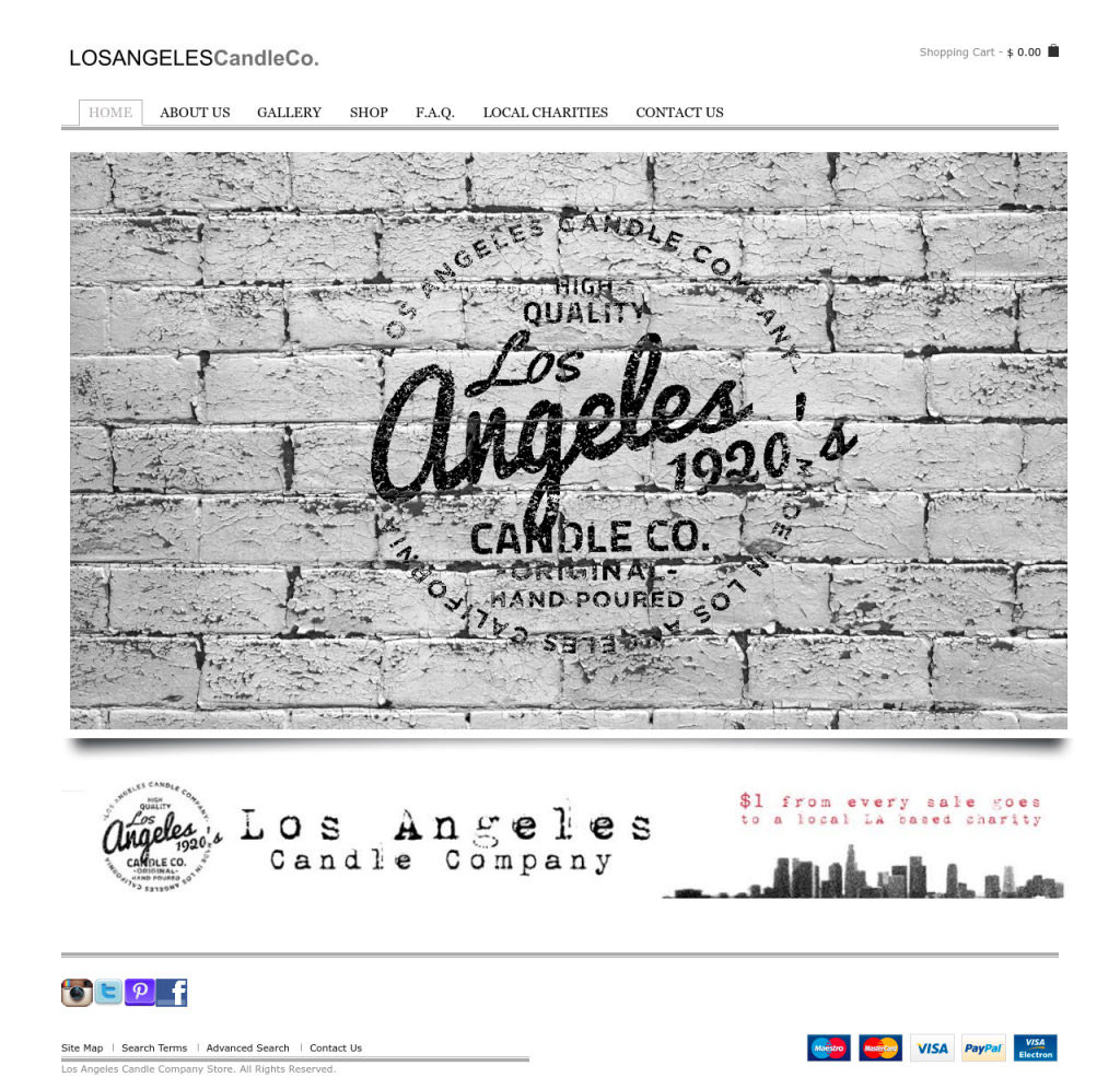 Los Angeles Candle Co – SHITECH | Best Web Design Agency, Web